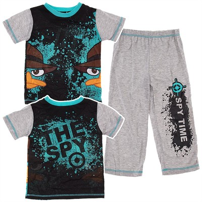 Phineas and Ferb Spy Time Pajamas for Boys