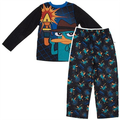 Phineas and Ferb Enemy of Evildoers Pajamas for Boys