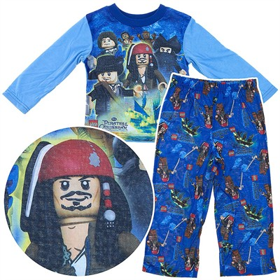 Lego Pirates of the Caribbean Pajamas for Boys