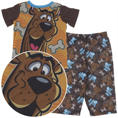 Scooby Doo Just Solvin' It Pajamas for Toddler Boys