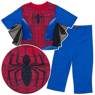Spider-man Pajamas for Boys with Webs