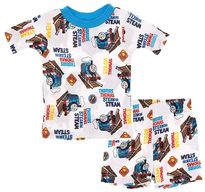 Thomas the Tank Engine Short Cotton Pajamas for Toddler Boys