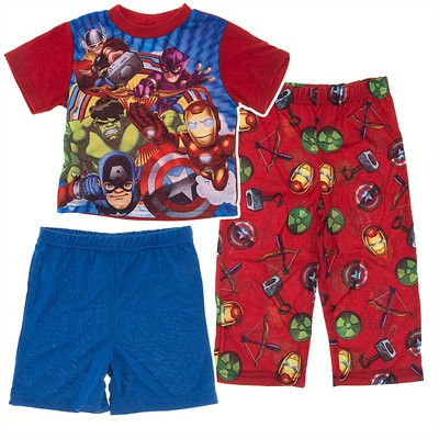Marvel Super Hero Squad Pajamas for Toddler Boys