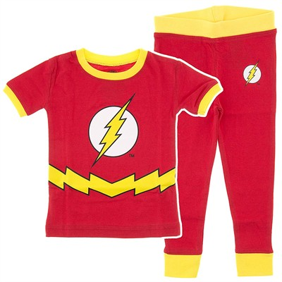 The Flash Cotton Pajamas for Infant and Toddler Boys