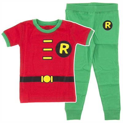 Robin Cotton Pajamas for Infant and Toddler Boys
