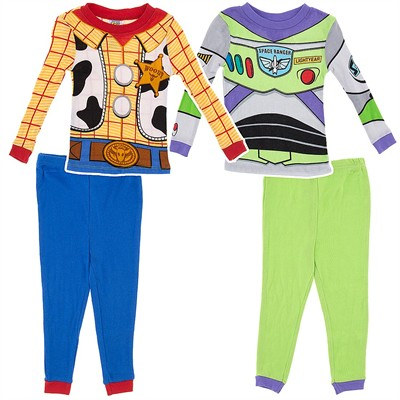 Buzz and Woody Cotton 2 Pack Pajamas for Baby Boys