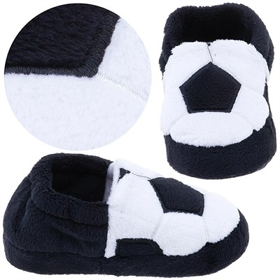 Soccer Slippers for Toddler Boys