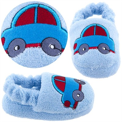 Car Toddler Slippers for Infant and Toddler Boys
