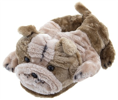 Bulldog Animal Slippers for Kids, Women and Men
