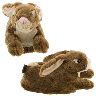 Brown Bunny Slippers for Women and Men