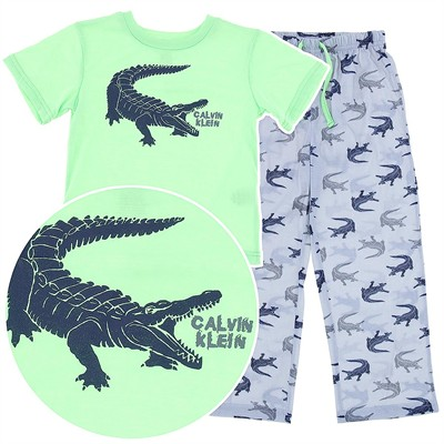 Calvin Klein Alligator Pajamas for Boys