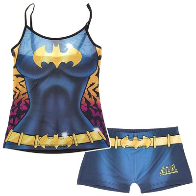 Batgirl Cami and Boy Short Set for Juniors