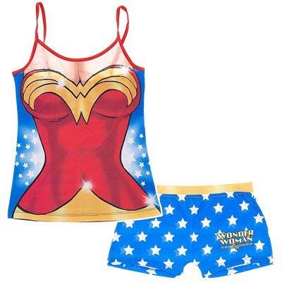 Wonder Woman and Boy Short Set for Juniors