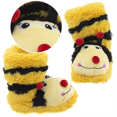 Bumble Bee Animal Bootie Slippers for Girls