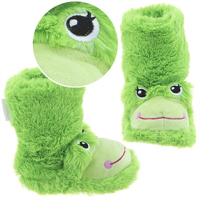 Frog Animal Bootie Slippers for Girls
