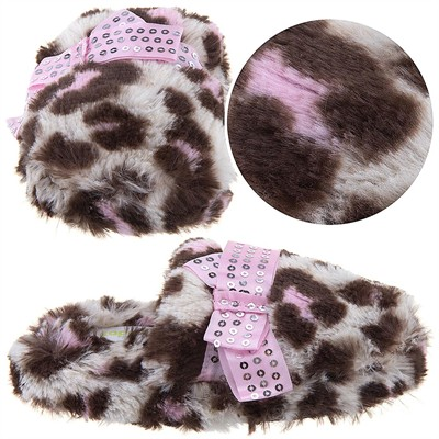 Leopard Slippers for Toddlers and Girls