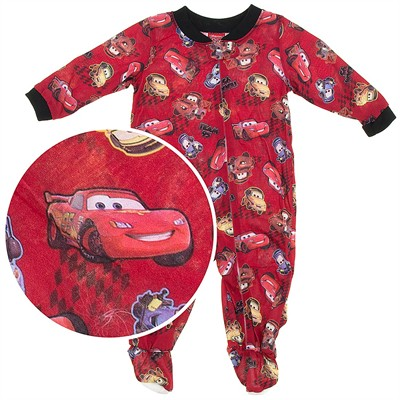 Cars Footie Pajamas for Baby Boys