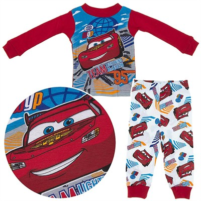 Cars Team 95 Cotton Pajamas for Infant Boys