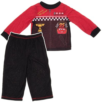 Cars Uniform Pajamas for Toddler Boys