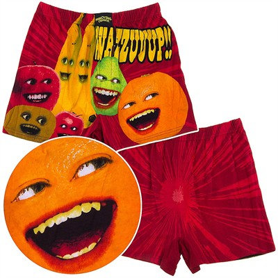The Annoying Orange Boxer Shorts for Men