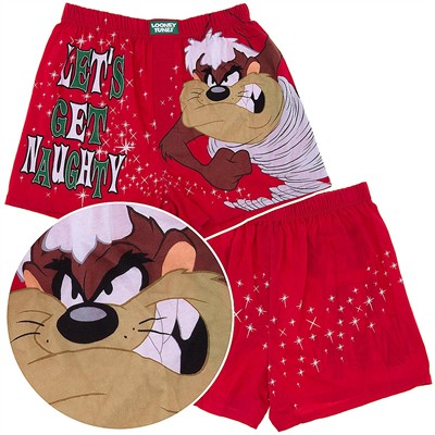 Looney Tunes Christmas Boxer Shorts for Men