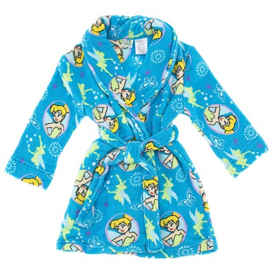 Tinker Bell Blue Bathrobe for Girls