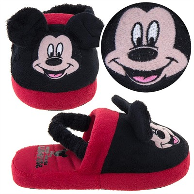 Mickey Mouse Slippers for Toddler Boys