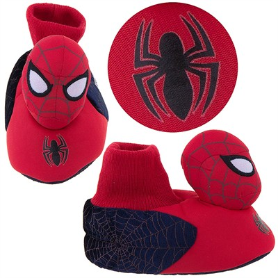 Spider-man Plush Slippers for Toddler Boys