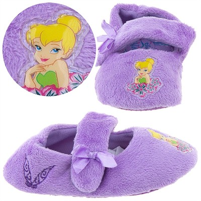 Tinker Bell Slippers for Toddler Girls