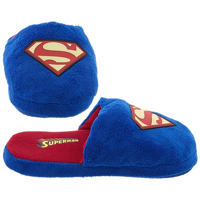 Superman Blue Slippers for Men