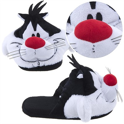 Sylvester Cartoon Slippers for Women