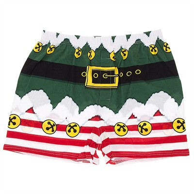 Santa's Helper Christmas Boxer Shorts for Men