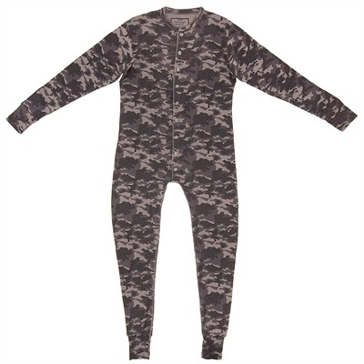 Camo Union Suit for Men