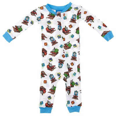 Thomas the Tank Cotton One-Piece Pajamas for Baby Boys