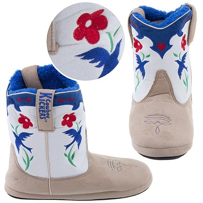 Cowboy Kickers Bluebird Slippers for Women