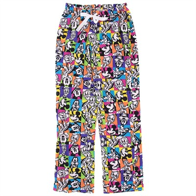 Disney Friends Neon Fleece Pajama Pants for Women