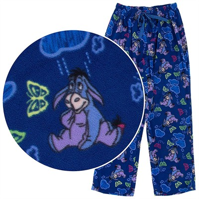 Eeyore Fleece Pajama Pants for Women