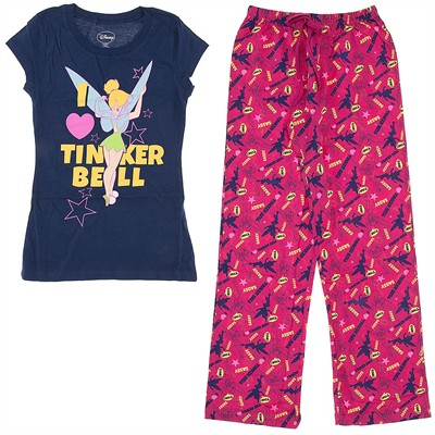 I Love Tinker Bell Pajamas for Juniors