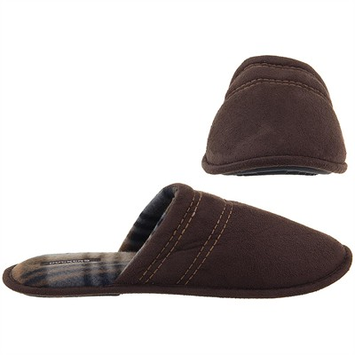 Dockers Dark Brown Slip On Slippers for Men