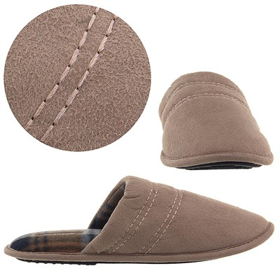 Dockers Tan Slip On Slippers for Men