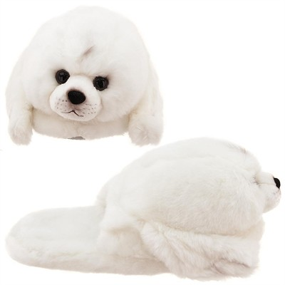 Baby Seal Animal Slippers for Toddler Girls