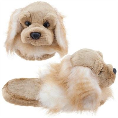 Cocker Spaniel Animal Slippers for Toddler Girls