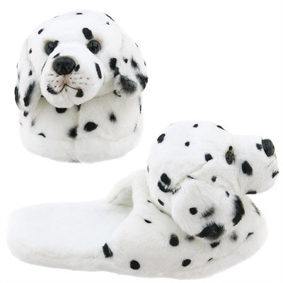Dalmatian Dog Animal Slippers for Toddler Girls