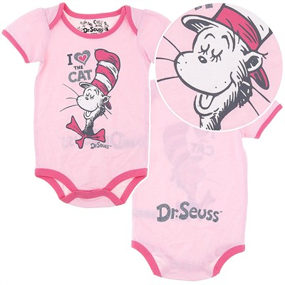 Dr. Seuss I Love Cat Infant Onesie