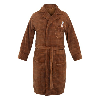 Dr. Who 11th Doctor Bath Robe for Men