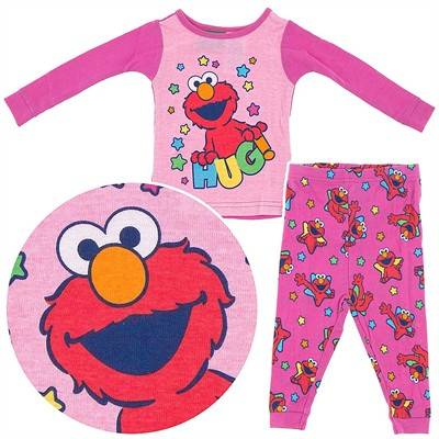 Elmo Pink Cotton Infant and Toddler Girls