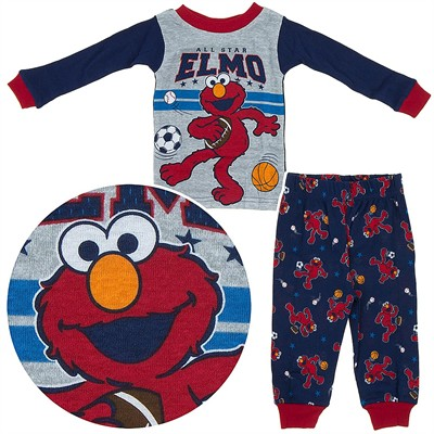 Elmo Sports Cotton Pajamas for Infant Boys