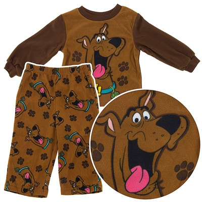 Scooby Doo Fleece Pajamas for Toddler Boys