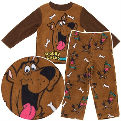 Scooby Snacks Fleece Pajamas for Boys