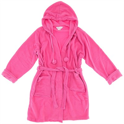 Pink Fleece Robe for Women